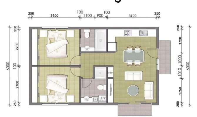 Best Granny Flats Mountain Home Bedroom