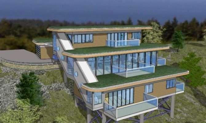 Best House Slope Pinterest Home Ideas