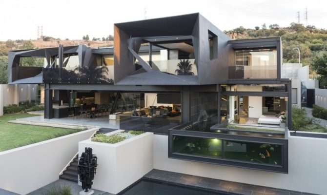 Best Houses World Amazing Kloof Road House Architecture