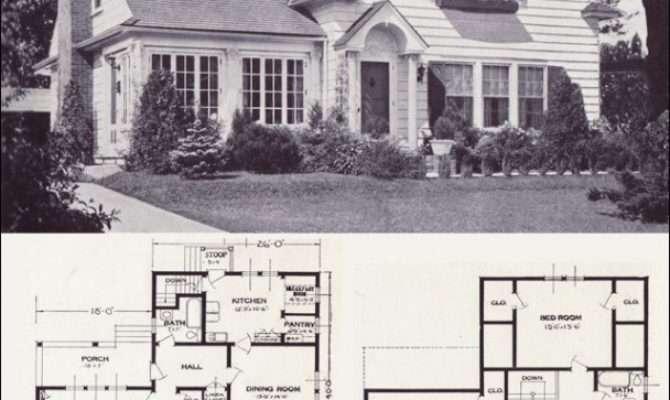 Best Ideas Vintage House Plans Pinterest