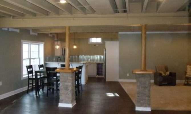 Best Kitchen Peninsula Raised Ranch Basement Design Ideas
