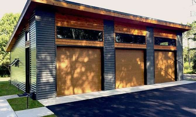 Best Modern Garage Plans Pinterest
