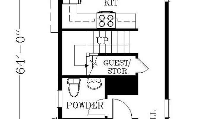 Best Narrow House Plans Ideas Pinterest