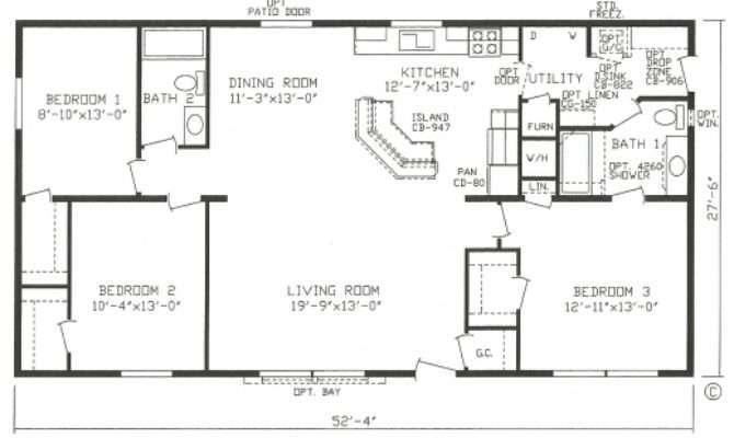 Best Open Floor Plan Modular Homes Simple