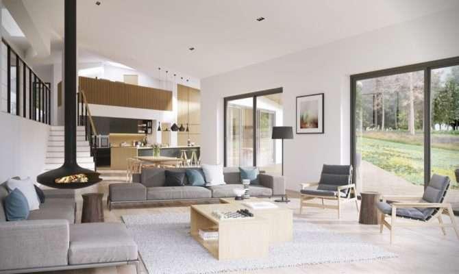 Best Open Plan Interior Designs Which Applied