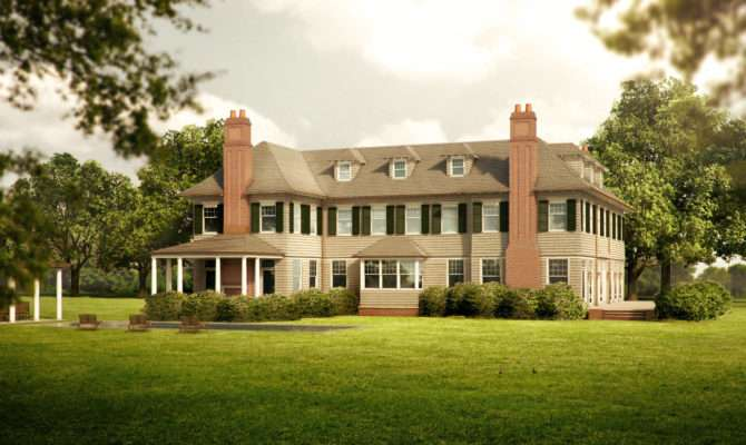 Best Shingle Style Home Plans Building