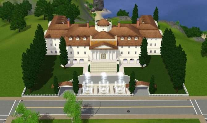 Best Sims Mansion Ideas House Plans