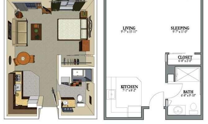 Best Studio Apartment Floor Plans Ideas Pinterest