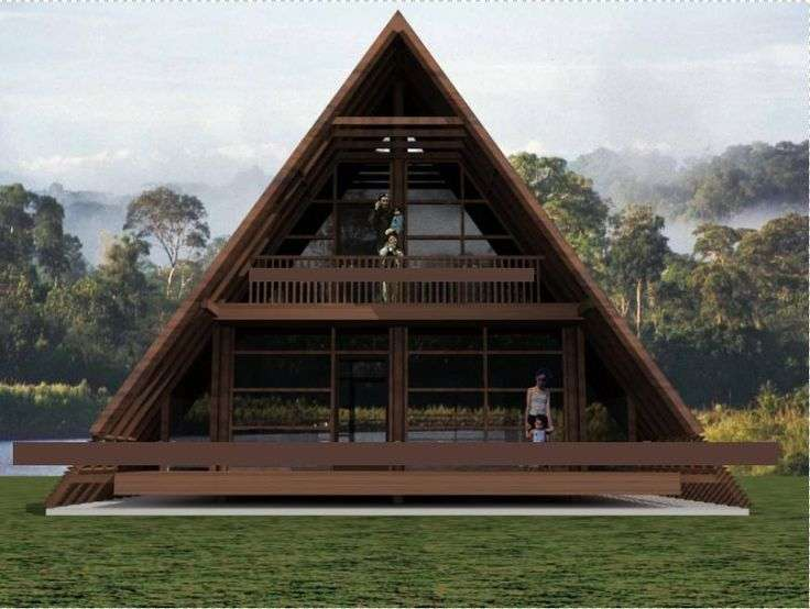 Best Triangle House Ideas Pinterest Bamboo