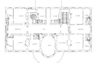 Big House Floor Plan Large Plans