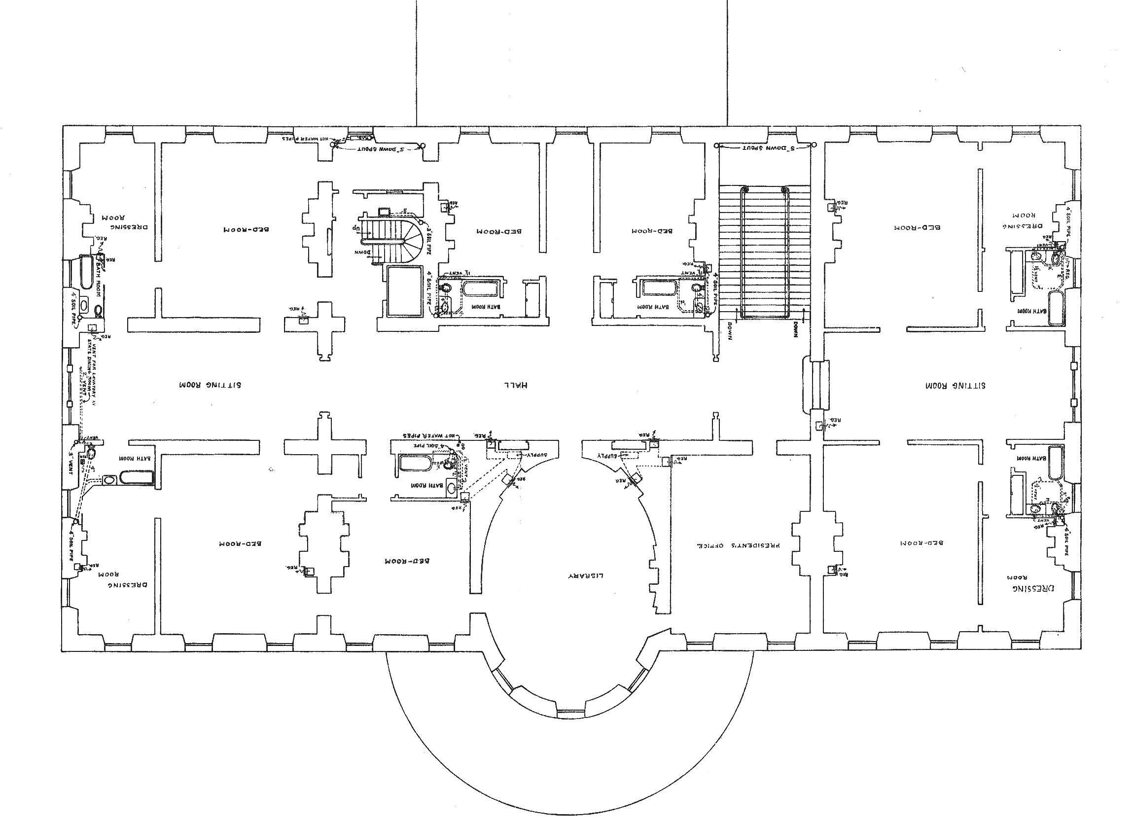Big House Floor Plan Large Plans