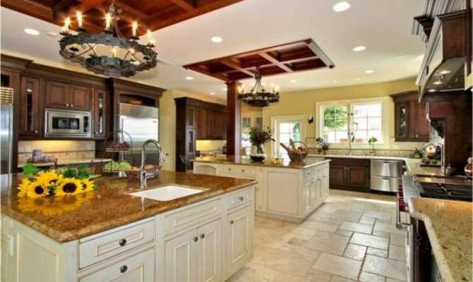 Big Kitchen Design Home Decorating Ideas