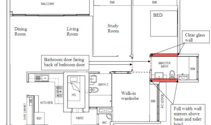 Bigger Floor Plan Master Bedroom Bathroom