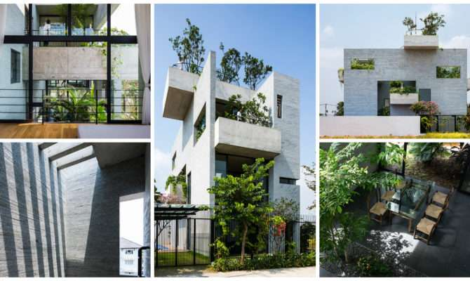 Binh House Modern Residential Architecture Styles