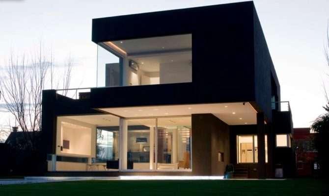 Black Modern House Argentina