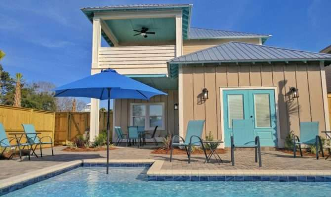 Blue Coconut Bed Bath Destin Beach Houses