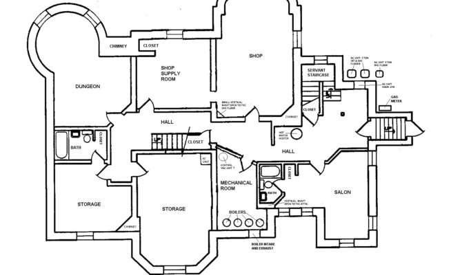 Blueprint Basement