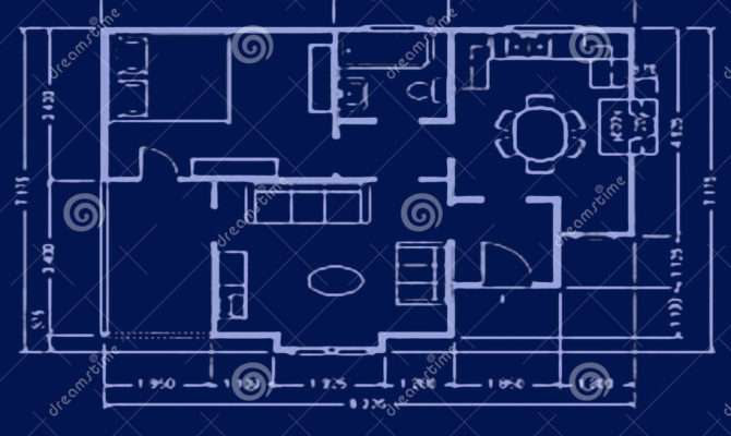 Blueprint House Plan Home Idea