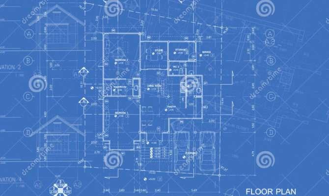 Blueprint Overlay Photography