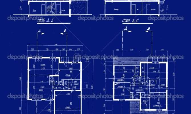 Blueprints Houses Interior