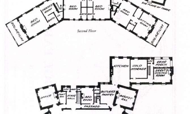 Blueprints Mansions Fantastic Many Resolutions