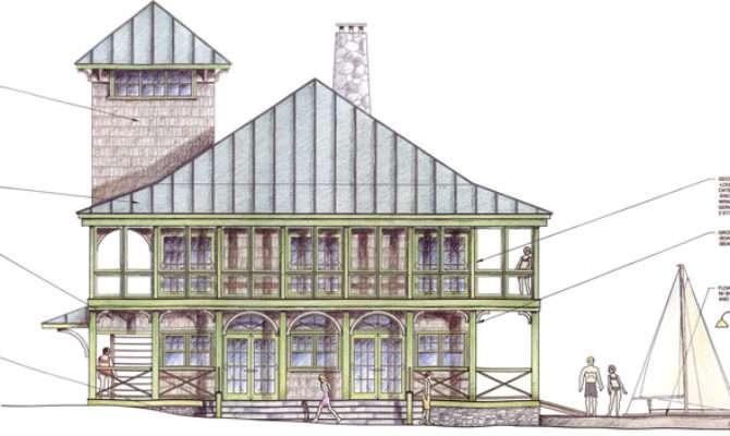 Boat Houses House Plans Designs Custom Building