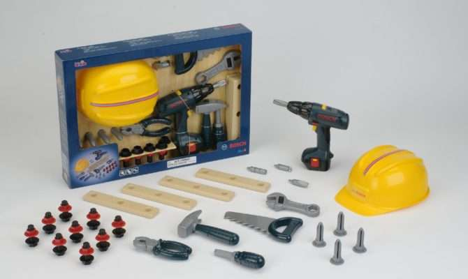 Bosch Pcs Set Includes Helmet Drill