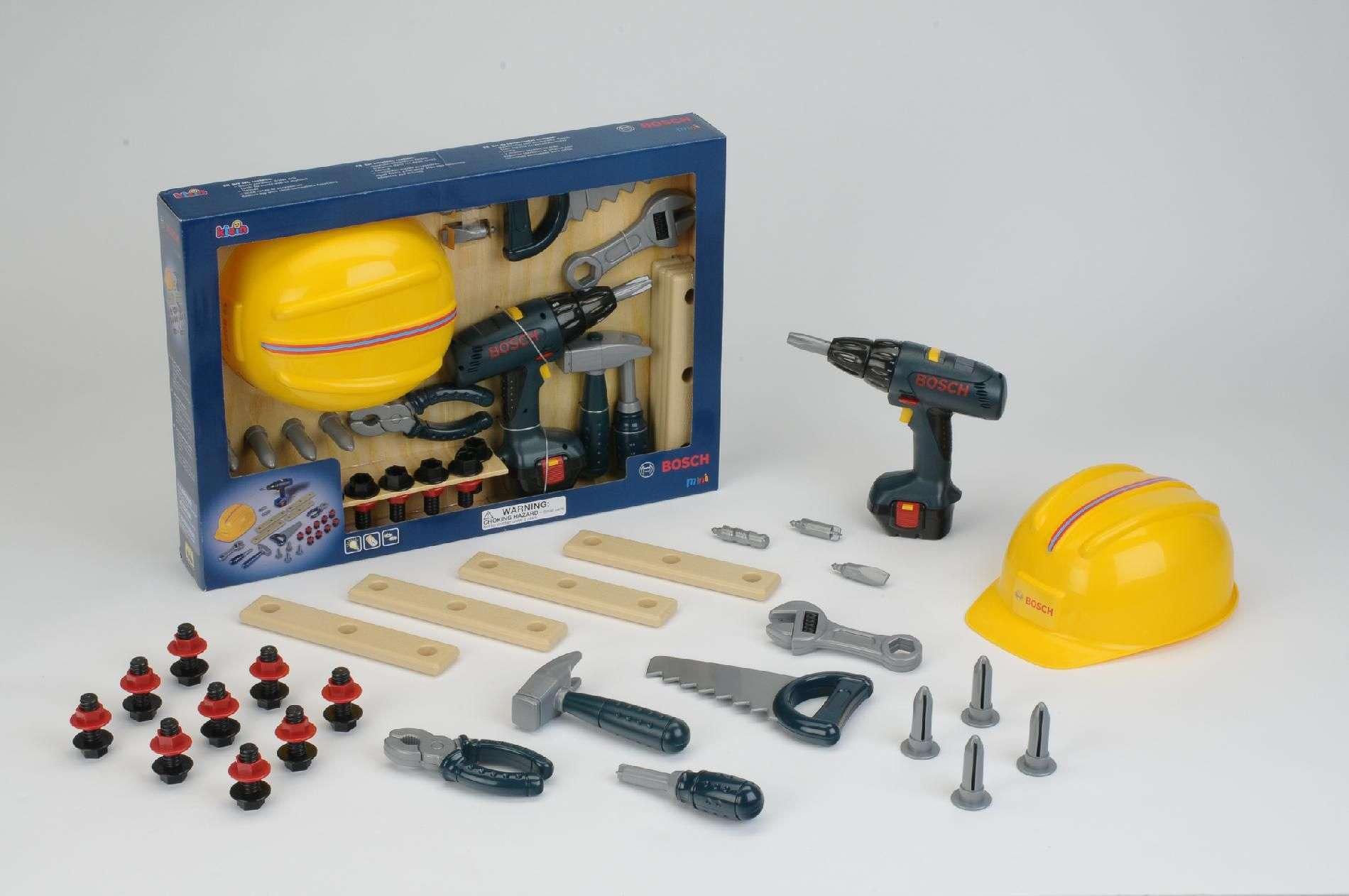Bosch Pcs Set Includes Helmet Drill