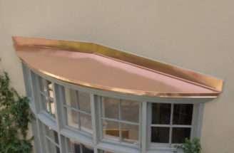 Bow Window Copper Hoods