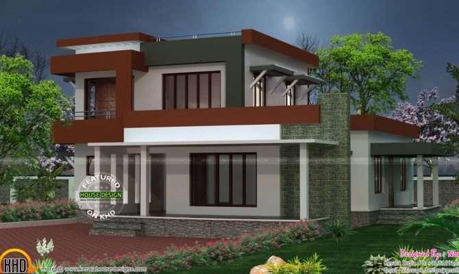 Box Type House Plan Kerala Home Design