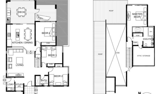 Bramston Beach House Floor Plan