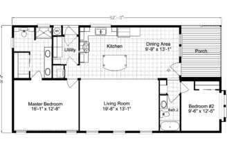Breeze Home Floor Plan Manufactured Modular