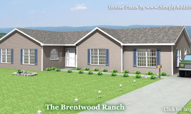 Brentwood Modular Ranch House