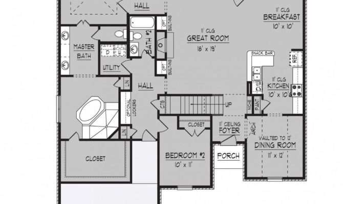 Briarcrest Floor Plans Regency Homebuilders