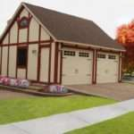 Brick Garages Designs Chicago Garage Builder Construction