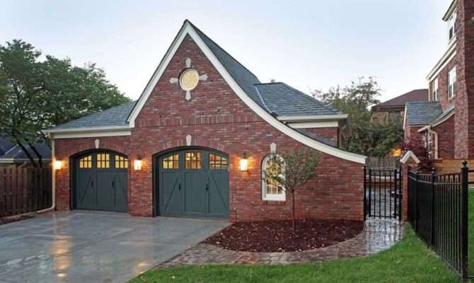 Brick Home Detached Garage
