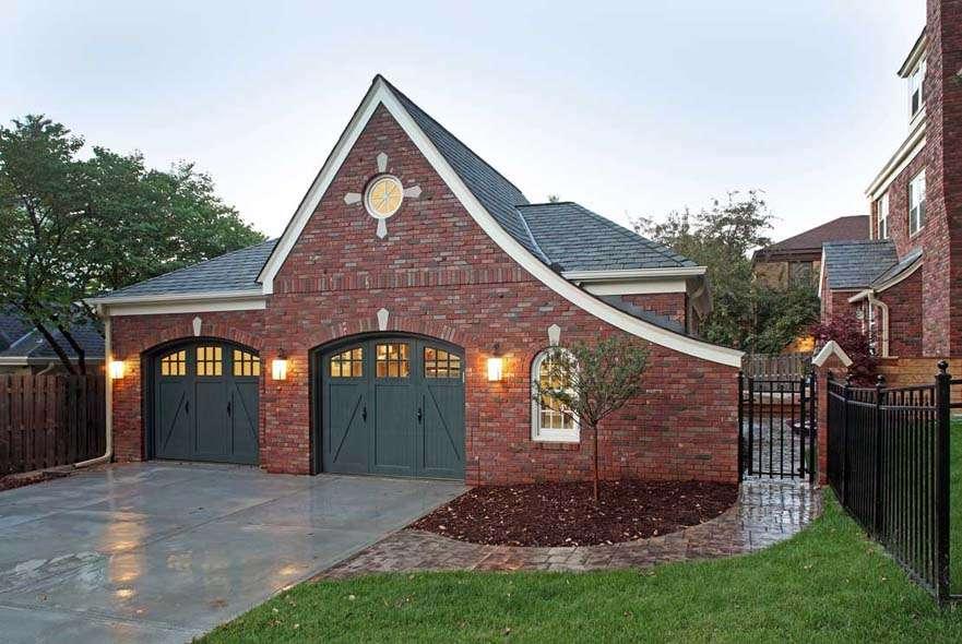 Brick Home Detached Garage