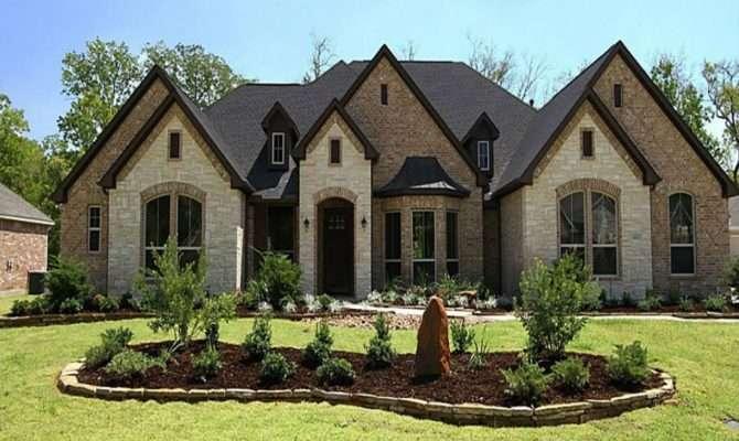 Brick Home Exterior Houses Stucco