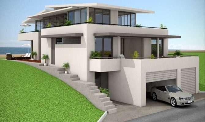 Brick House Facades American Modern Design European