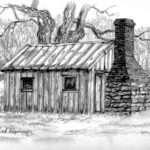 Brick Stone Chimney Smokehouse