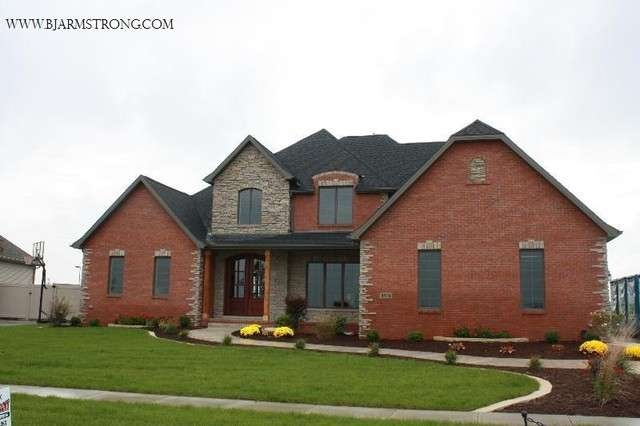 Brick Stone Home Exterior Traditional