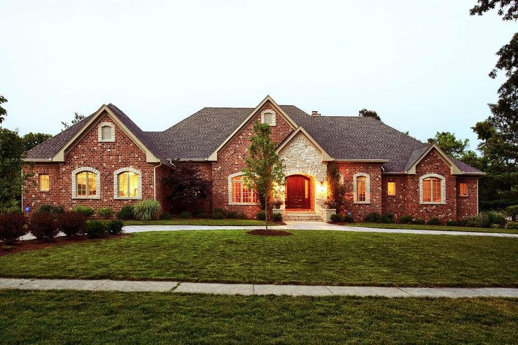 Brick Stone Ranch Houses Hibbs Ehomes Llc
