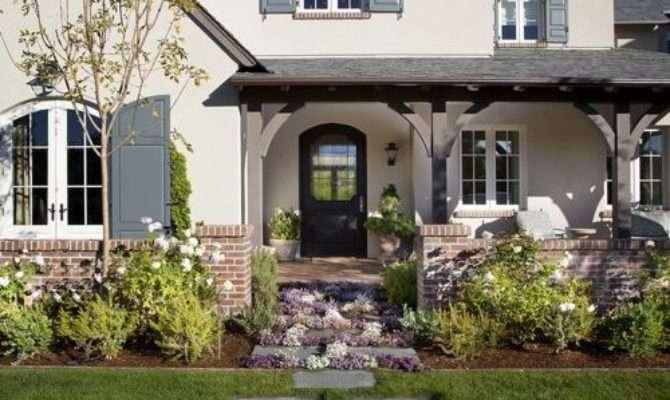 Brick Stucco Home Design Ideas Remodel