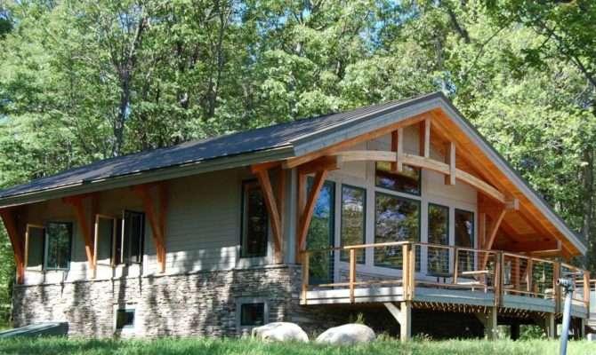 Bristol Mountain Cabin Timber Frame Case Study