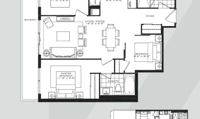 Britt Condos Bedroom Floor Plans