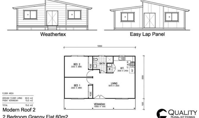 Brochure Pricing Bedroom Granny Flat Steel Kit Home