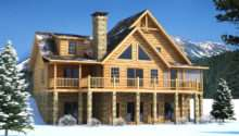 Brookestone Log Cabin Floor Plan Southland Homes