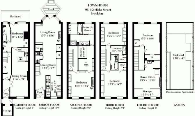 Brownstone Floor Plans New York City Gurus