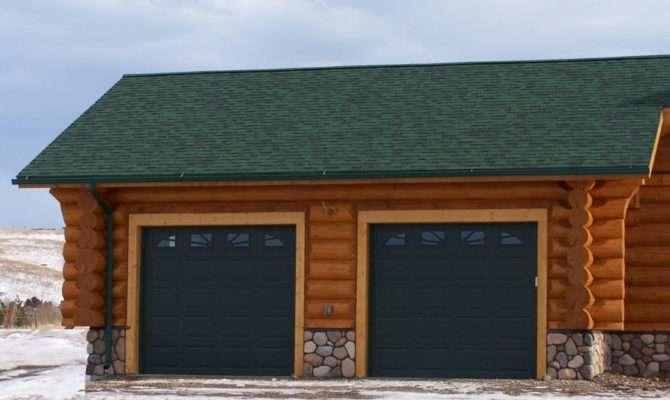 Buckboard Car Log Garage Plan Cowboy Homes