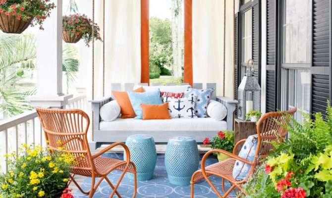 Budget Friendly Spring Front Porch Decor Ideas
